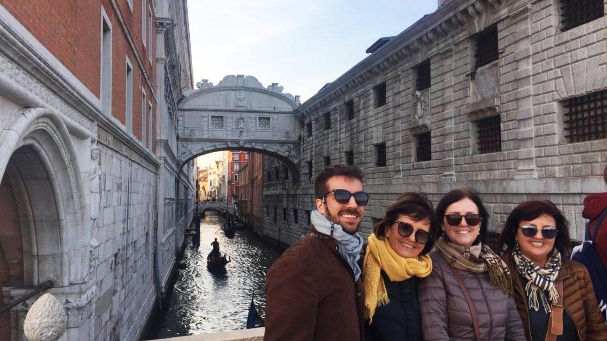 Viagem da família Casella na Itália